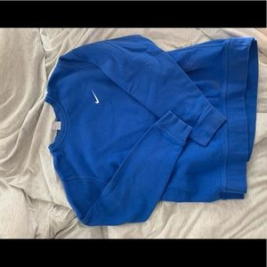 Vintage royal blue sweatshirt